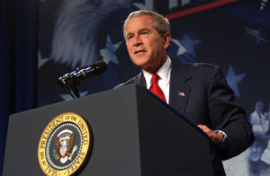 Bush built a pandemic N95 stockpile that Obama depleted and never replenished