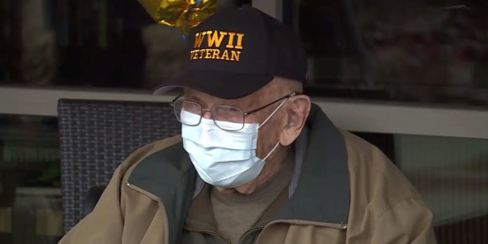 Resilient 104-year-old WWII veteran recovers from COVID-19
