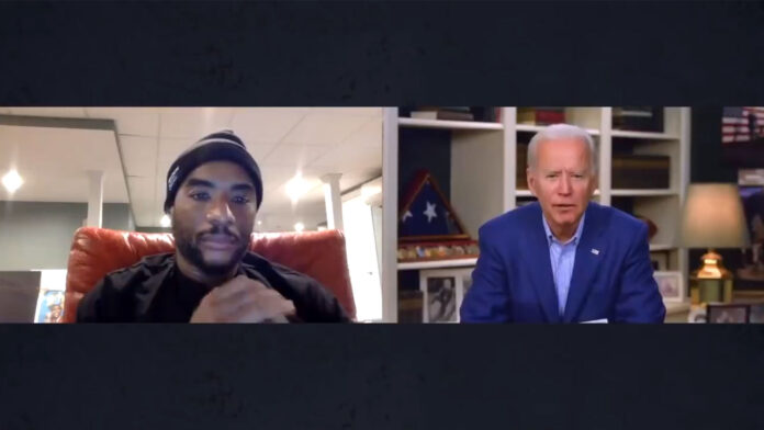 Joe Biden Says Young Black Man