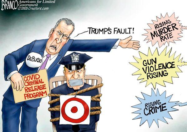 President Trump getting the blame