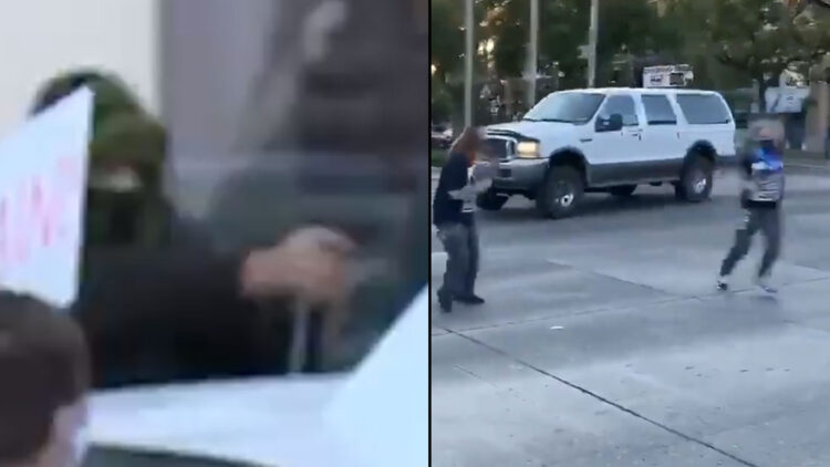 Alleged Peaceful Protesters Armed, Dangerous, And Firing At Drivers