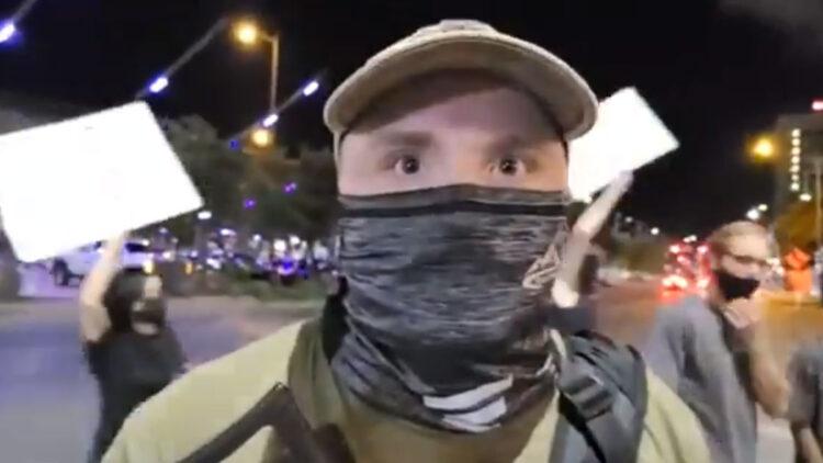 Black Lives Matter Protester Armed With AK-47 Shot