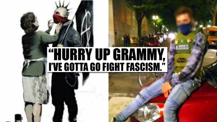 IED Throwing Anarchist Identified By Grammy's Gift