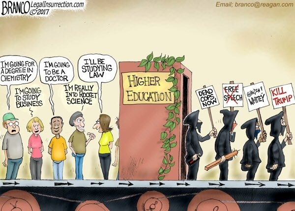 Higher Education Defund Propaganda