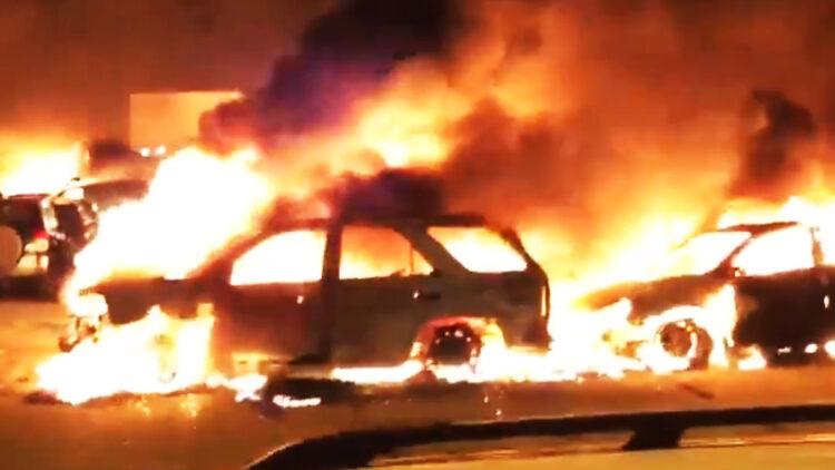 Jacob Blake Riots leads to serious arson