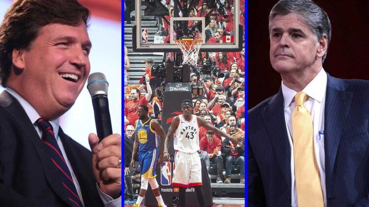 NBA Ratings Crushed By Tucker Carlson And Sean Hannity